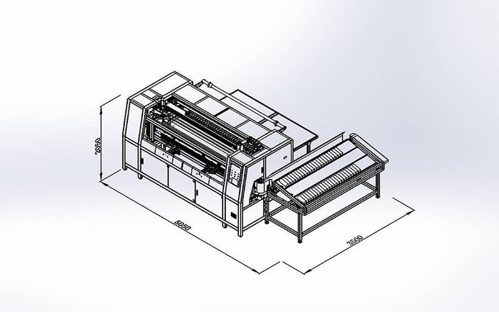 DN-6 Máquina automática de montaje de muelle de bolsillo (小)