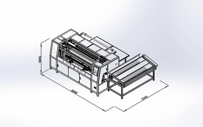 DN-6 Máquina automática de montaje de muelles de bolsillo (小 2)