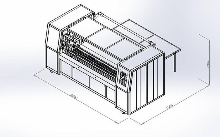 DN-4数控袋装弹簧粘胶机