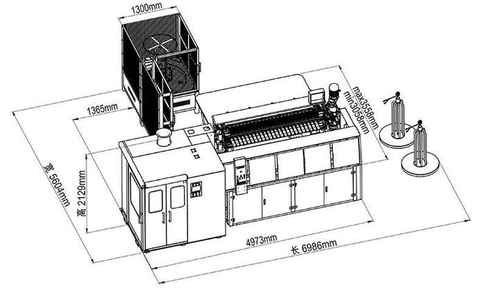 TX-011 Máquina de línea de producción automática de primavera TX-011.mp4