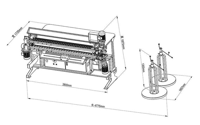 CW-2Semi-Auto Spring Assembly Machine