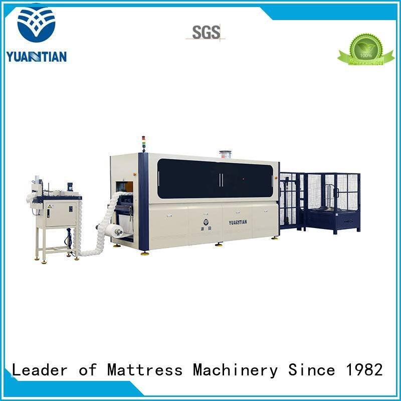 YUANTIAN Mattress Machines line automatic Automatic High Speed Pocket Spring Machine spring speed