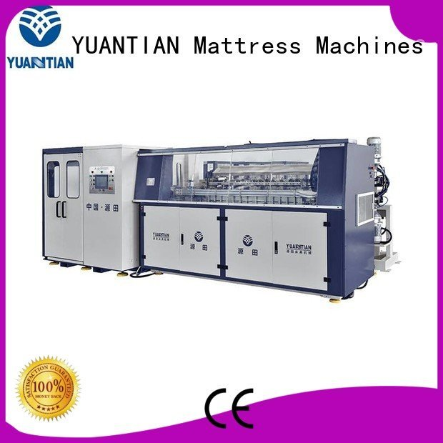 bonnell spring machine bonnell YUANTIAN Mattress Machines Brand Automatic Bonnell Spring Coiling Machine