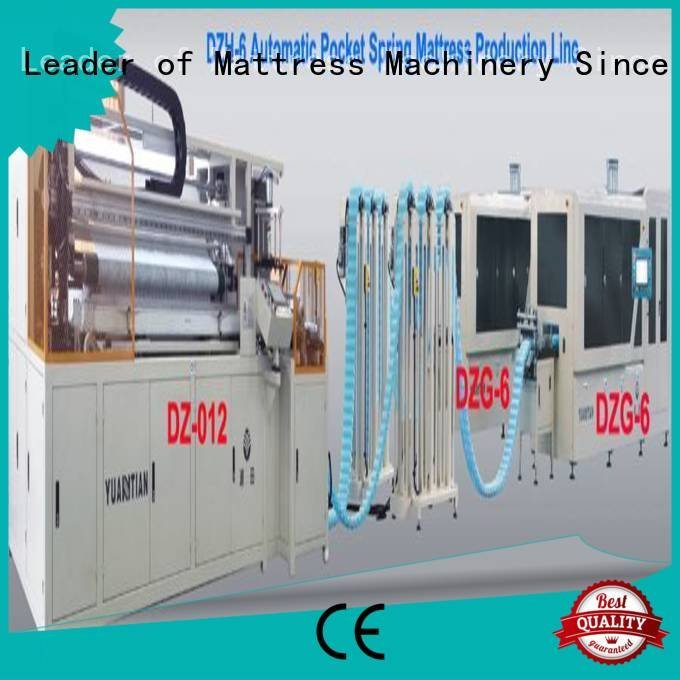 Automatic Pocket Spring Machine automatic dn6 Automatic High Speed Pocket Spring Machine YUANTIAN Mattress Machines Brand