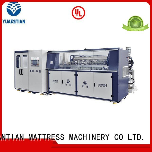 bonnell spring machine production Automatic Bonnell Spring Coiling Machine YUANTIAN Mattress Machines Brand