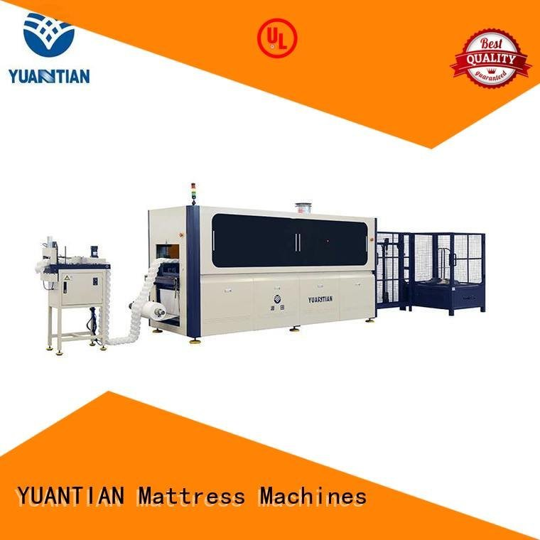 YUANTIAN Mattress Machines assembling production automatic Automatic Pocket Spring Machine line