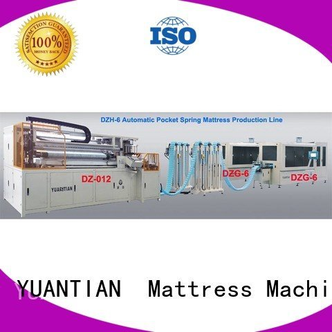 YUANTIAN Mattress Machines Brand speed line Automatic High Speed Pocket Spring Machine machine high