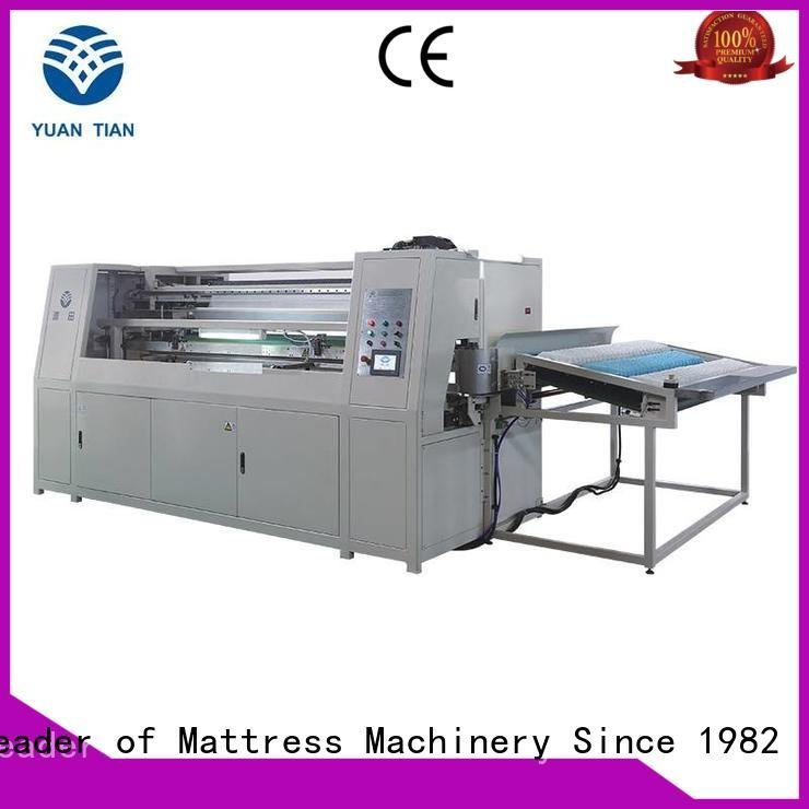 speed assembling Automatic Pocket Spring Machine YUANTIAN Mattress Machines