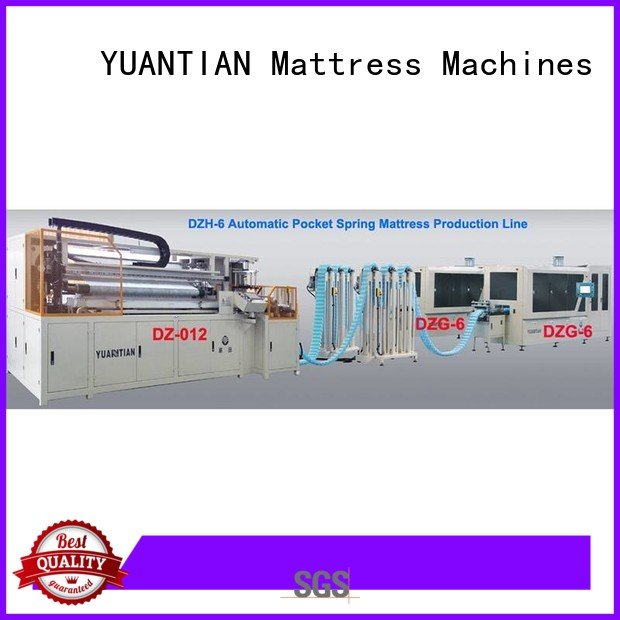 pocketspring Automatic High Speed Pocket Spring Machine production high YUANTIAN Mattress Machines