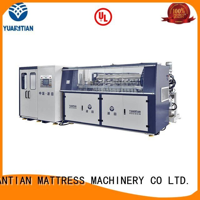 Wholesale machine unit Automatic Bonnell Spring Coiling Machine YUANTIAN Mattress Machines Brand