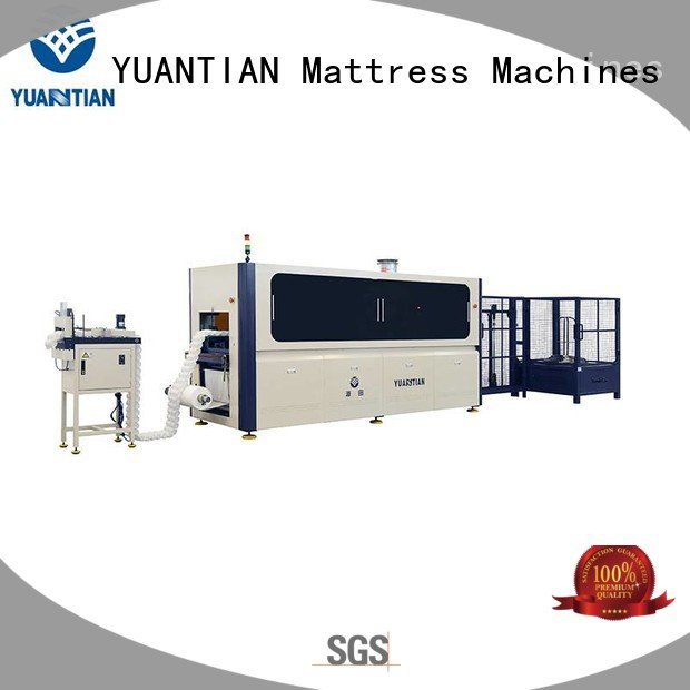production pocket automatic Automatic Pocket Spring Machine high Automatic High Speed Pocket Spring Machine YUANTIAN Mattress