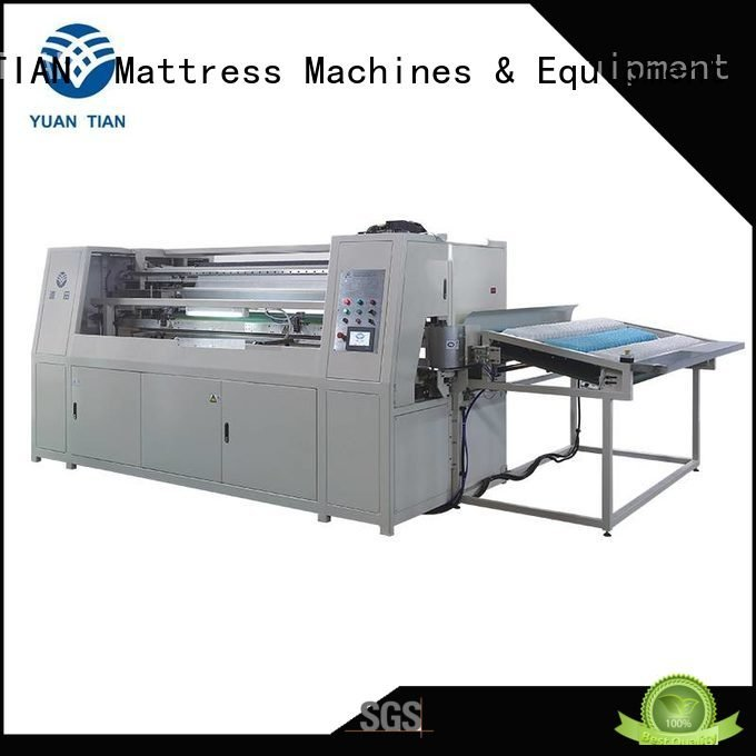 Automatic Pocket Spring Machine coiler speed Automatic High Speed Pocket Spring Machine YUANTIAN Mattress Machines Warranty