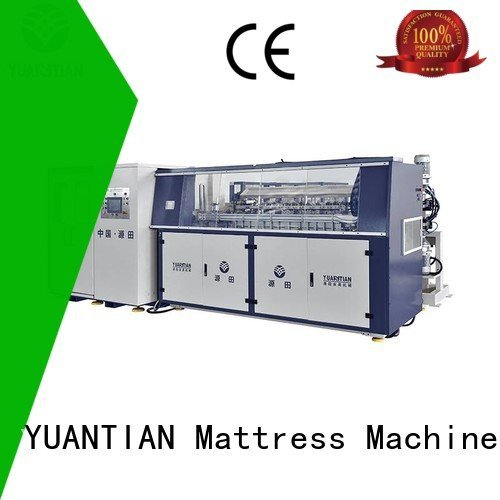 Hot bonnell spring machine zj3 tx011 production YUANTIAN Mattress Machines Brand