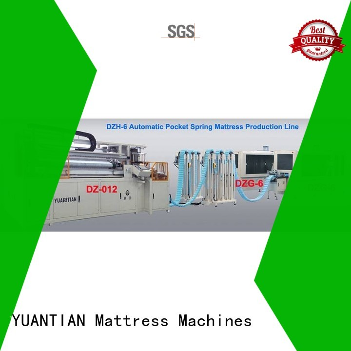 high Custom line machine Automatic High Speed Pocket Spring Machine YUANTIAN Mattress Machines assembler