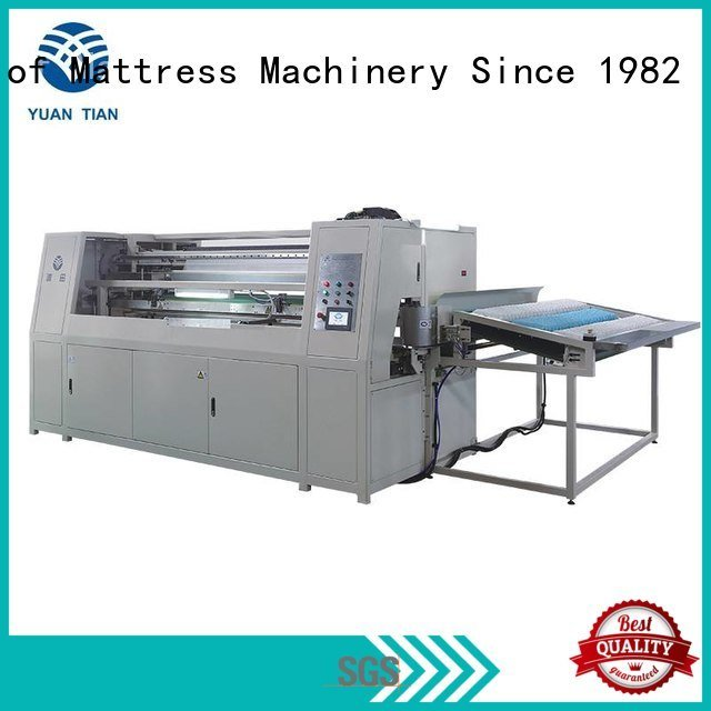 coiler spring automatic coiling YUANTIAN Mattress Machines Automatic Pocket Spring Machine