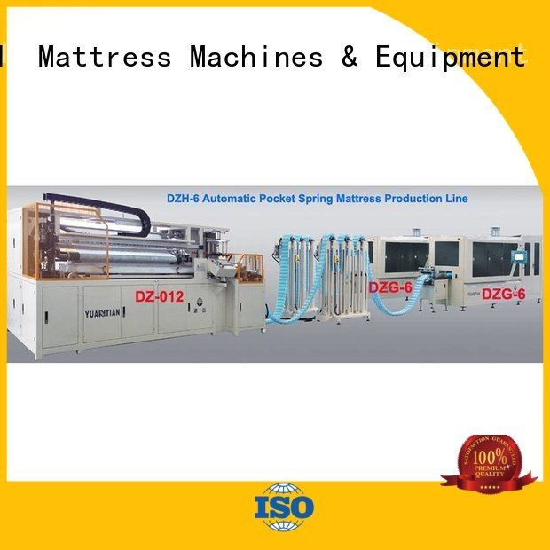 Automatic Pocket Spring Machine production automatic Automatic High Speed Pocket Spring Machine YUANTIAN Mattress Machines Warra
