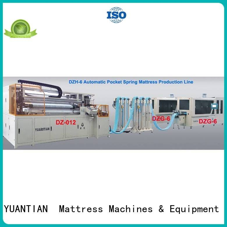 YUANTIAN Mattress Machines Brand assembling Automatic Pocket Spring Machine coiler pocketspring