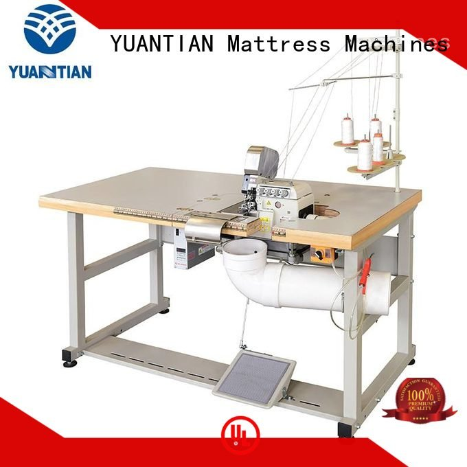Double Sewing Heads Flanging Machine ds7a Mattress Flanging Machine YUANTIAN Mattress Machines