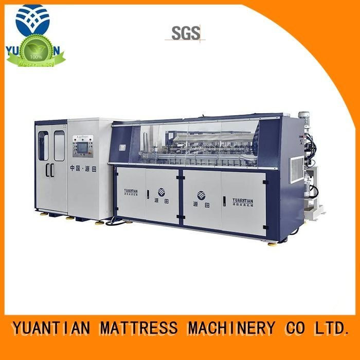 production Automatic Bonnell Spring Coiling Machine YUANTIAN Mattress Machines bonnell spring machine