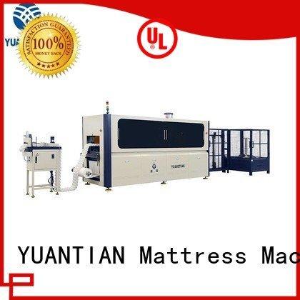 YUANTIAN Mattress Machines Brand dzg1 machine Automatic High Speed Pocket Spring Machine pocket automatic