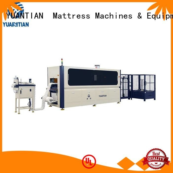 Quality Automatic Pocket Spring Machine YUANTIAN Mattress Machines Brand production Automatic High Speed Pocket Spring Machine