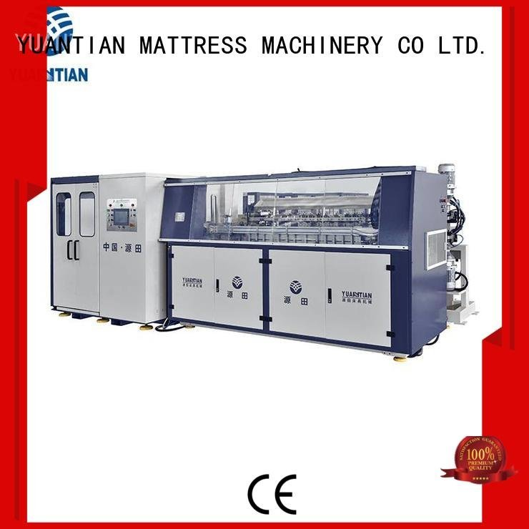 Custom Automatic Bonnell Spring Coiling Machine line automatic production YUANTIAN Mattress Machines