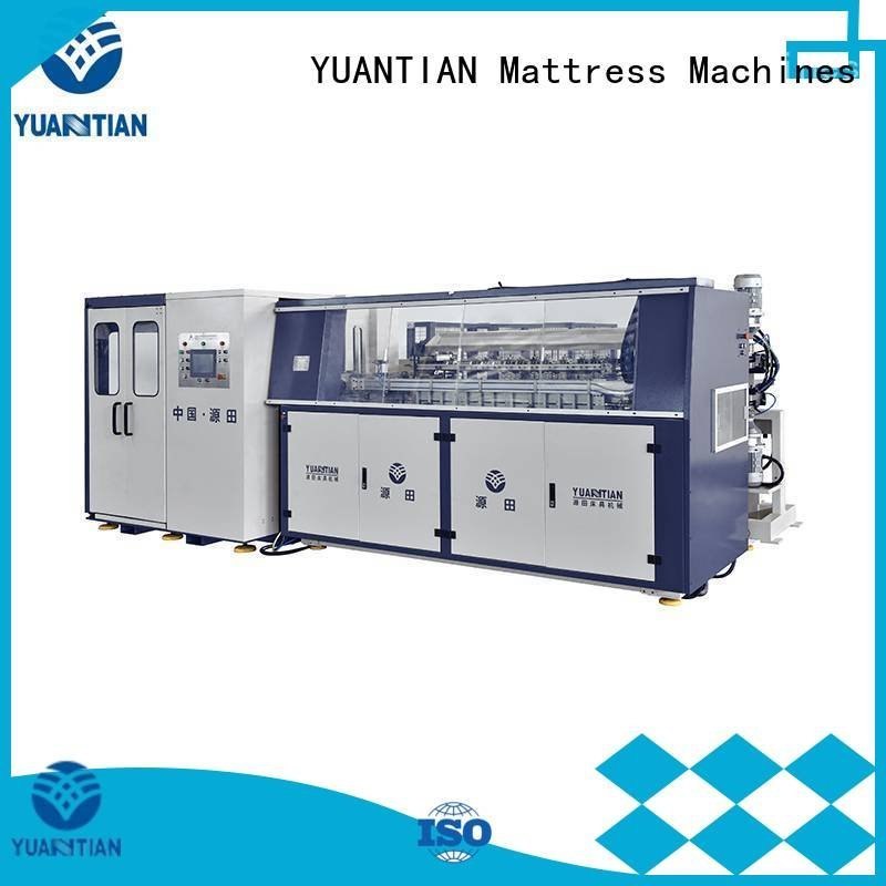 YUANTIAN Mattress Machines tx012 Automatic Bonnell Spring Coiling Machine coiler machine