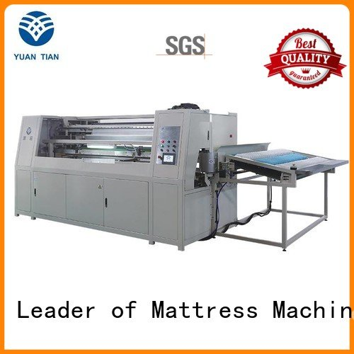 high automatic YUANTIAN Mattress Machines Automatic Pocket Spring Machine