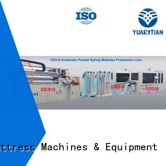 assembler speed pocket Automatic High Speed Pocket Spring Machine YUANTIAN Mattress Machines