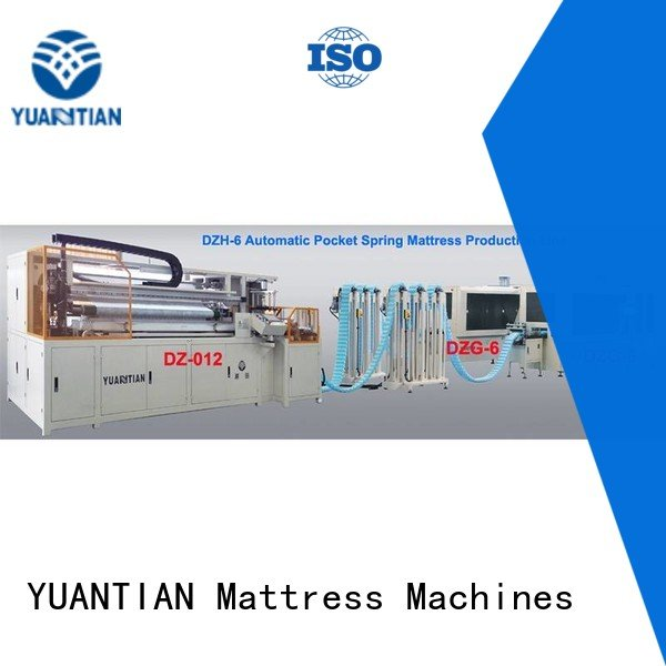Wholesale production line Automatic High Speed Pocket Spring Machine YUANTIAN Mattress Machines Brand