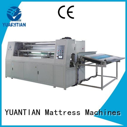 Automatic Pocket Spring Machine dt012 dzg1b pocketspring dzg1a YUANTIAN Mattress Machines