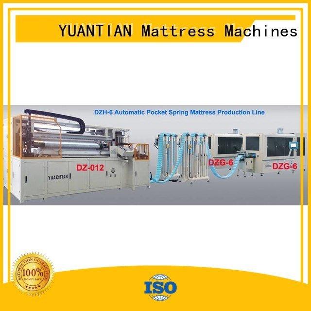 Automatic Pocket Spring Machine assembling Automatic High Speed Pocket Spring Machine speed YUANTIAN Mattress Machines