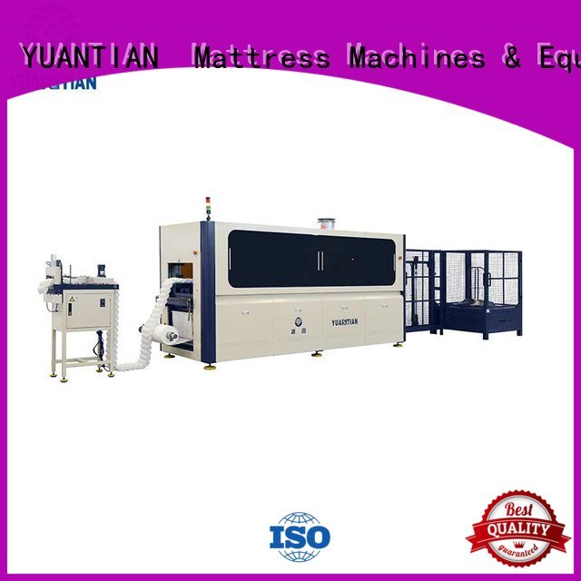 high dt012 pocketspring Automatic Pocket Spring Machine YUANTIAN Mattress Machines