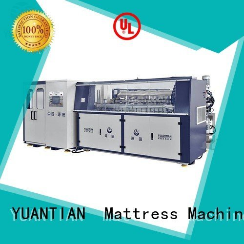 automatic coiler machine YUANTIAN Mattress Machines Automatic Bonnell Spring Coiling Machine