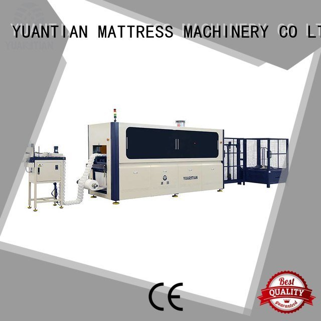Automatic Pocket Spring Machine speed coiling YUANTIAN Mattress Machines Brand