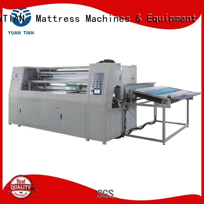 YUANTIAN Mattress Machines Brand automatic assembling pocket Pocket Spring Assembling Machine