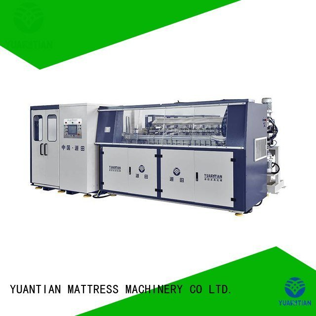 bonnell spring machine line YUANTIAN Mattress Machines Brand Automatic Bonnell Spring Coiling Machine