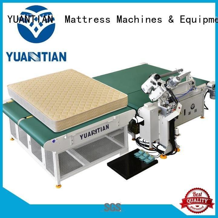mattress tape edge machine machine top mattress tape edge machine YUANTIAN Mattress Machines Brand