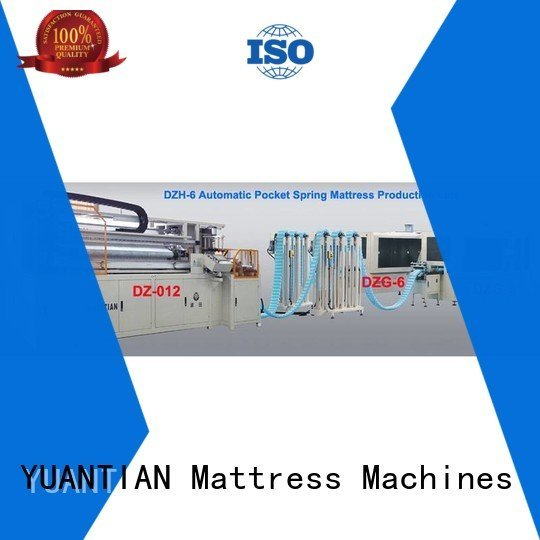 Automatic Pocket Spring Machine dzg1a spring dt012 dzg1 YUANTIAN Mattress Machines
