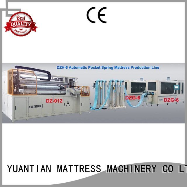 YUANTIAN Mattress Machines Brand high machine spring Automatic High Speed Pocket Spring Machine production