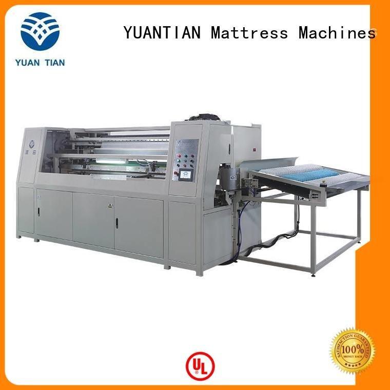 Automatic Pocket Spring Machine dn6 dtdx012 Automatic High Speed Pocket Spring Machine YUANTIAN Mattress Machines Brand
