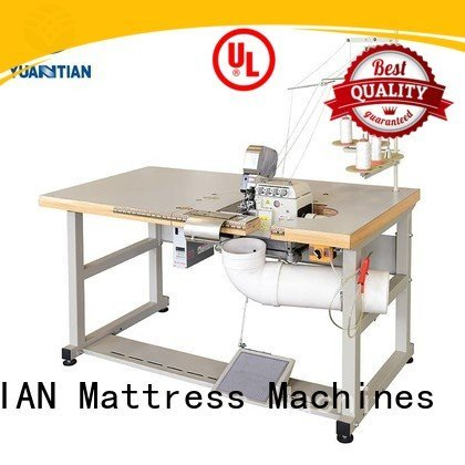 Double Sewing Heads Flanging Machine ds5b heavyduty sewing YUANTIAN Mattress Machines