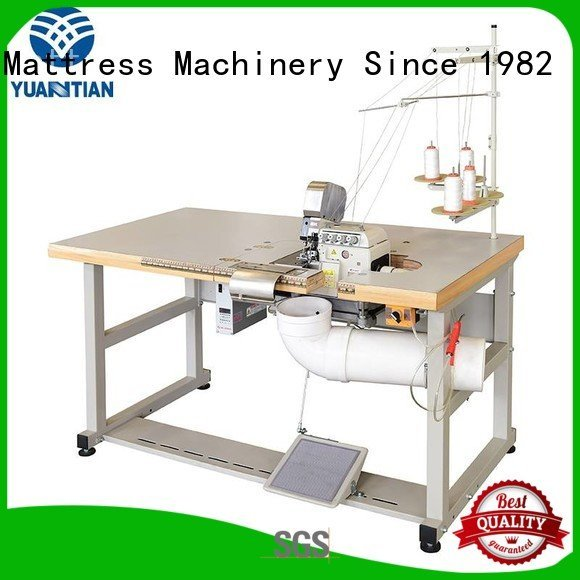 Quality Double Sewing Heads Flanging Machine YUANTIAN Mattress Machines Brand sewing Mattress Flanging Machine