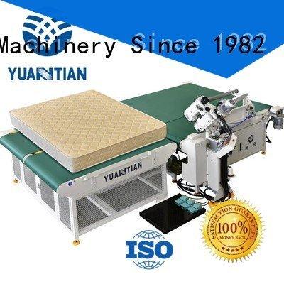 tape binding table mattress tape edge machine YUANTIAN Mattress Machines