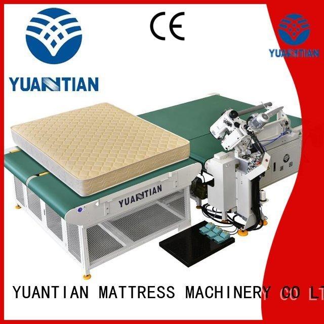 mattress tape edge machine table mattress OEM mattress tape edge machine YUANTIAN Mattress Machines