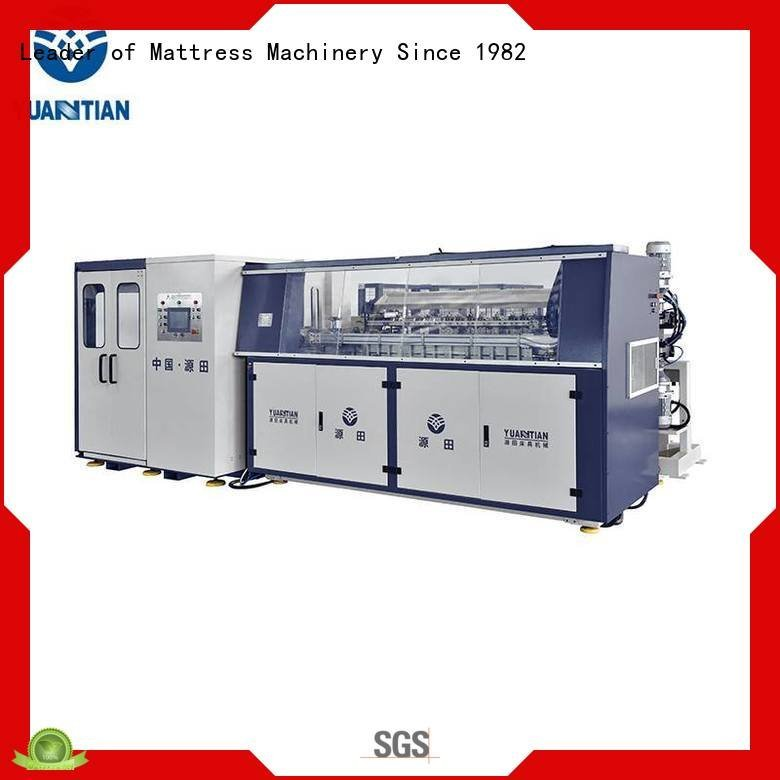 spring tx011 automatic YUANTIAN Mattress Machines bonnell spring machine
