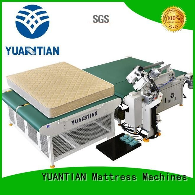 YUANTIAN Mattress Machines mattress wpg2000 mattress tape edge machine machine top