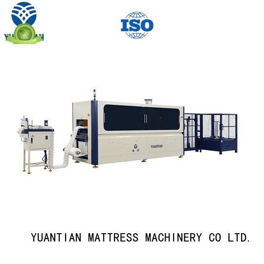 pocketspring assembling Automatic Pocket Spring Machine YUANTIAN Mattress Machines