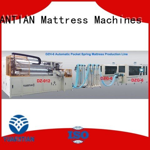 machine speed production YUANTIAN Mattress Machines Automatic Pocket Spring Machine