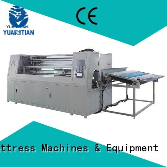 YUANTIAN Mattress Machines Brand high speed machine Automatic High Speed Pocket Spring Machine